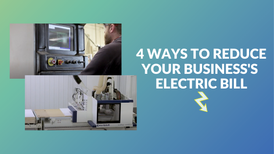 4 ways to reduce your businesses electric bill