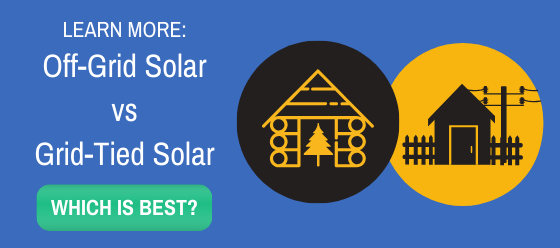 off grid solar vs grid tied solar