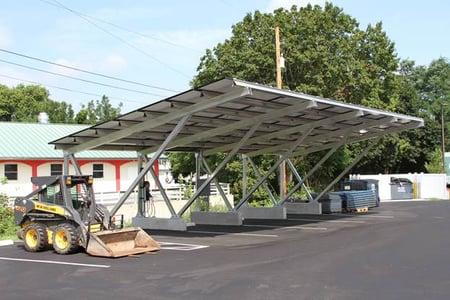 Corporate Office Solar Carport