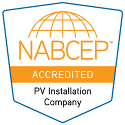NABCEP Accredited PV Installation Company Logo