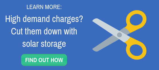 Learn more about how to cut your demand charges with solar storage