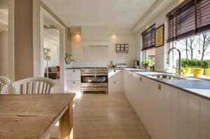 Kitchen in home