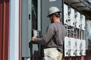 Paradise Energy Solar Installer In Action