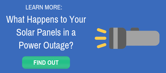 what happens to solar panels in a power outage link