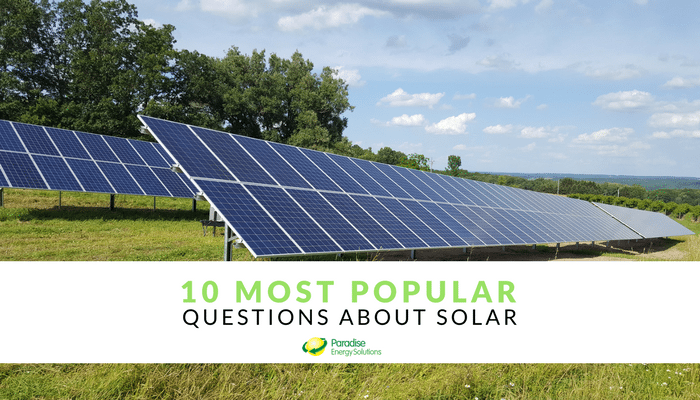 10 most popular questions about solar