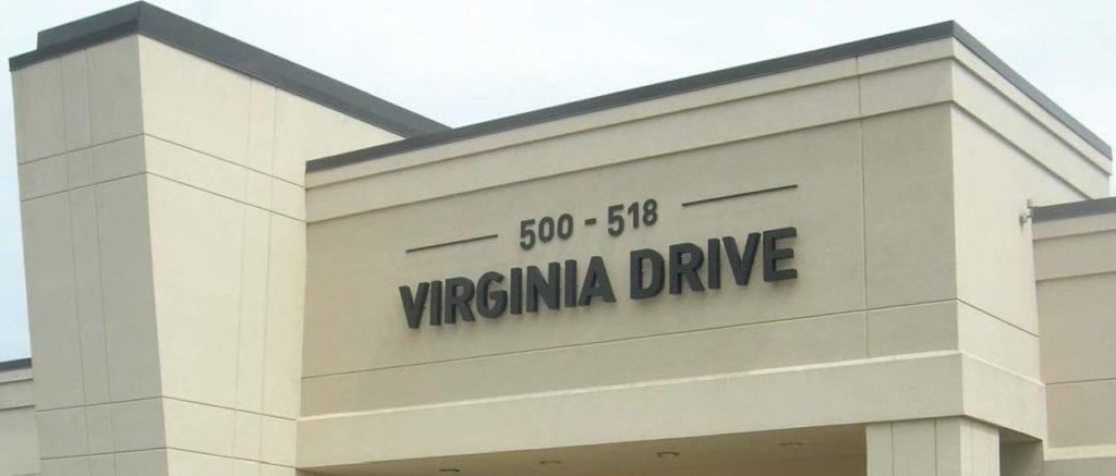 500 Virginia Drive Solar Installation