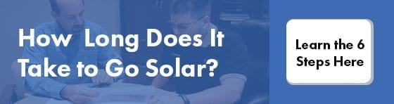 how long does it take to go solar