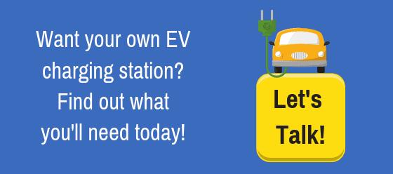 get own ev charging station