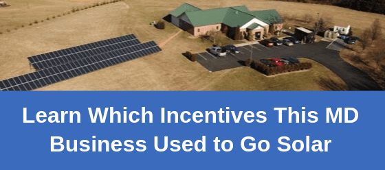 solar incentives for maryland businesses