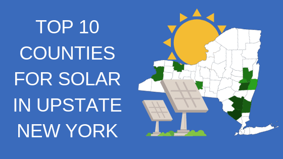 top 10 counties in upstate new york for solar
