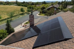 Railless Solar System On House Roof