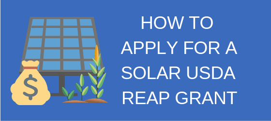 how to apply for a usda grant solar