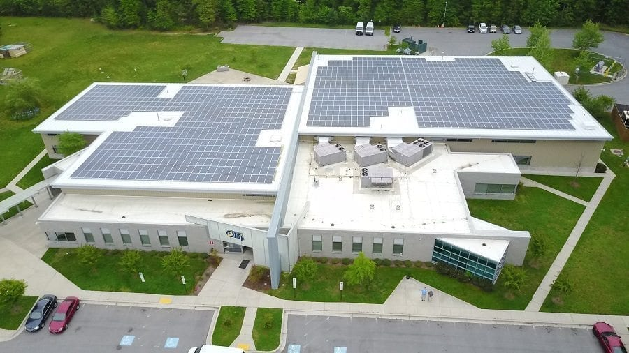 Opportunity Builders, INC Adds Solar to LEED Certifiable Facility