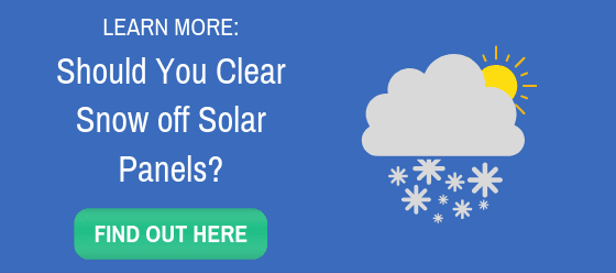 Should You Clear Snow off Solar Panels