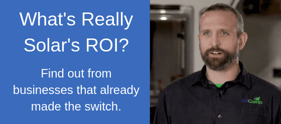 What is the ROI for Solar Panels