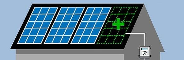 adding new solar panels to existing system