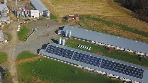 solar panels bernville pa poultry farm