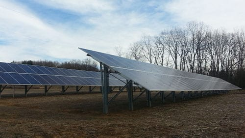 coshocton oh ground mount solar panels farm