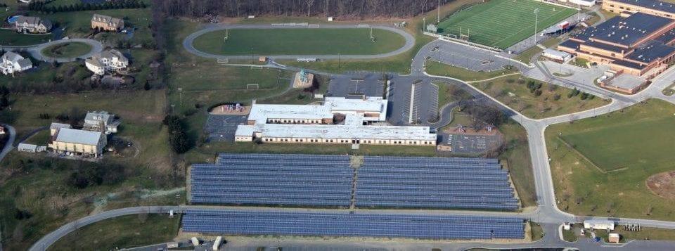 Cumberland Valley School District Solar Installation