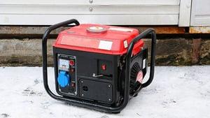 gas powered electric generator