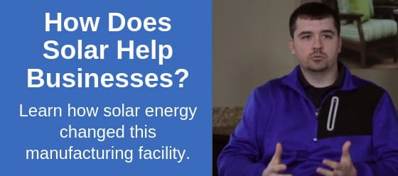how does solar help businesses