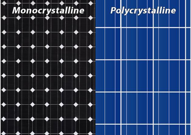 mono vs poly solar panels