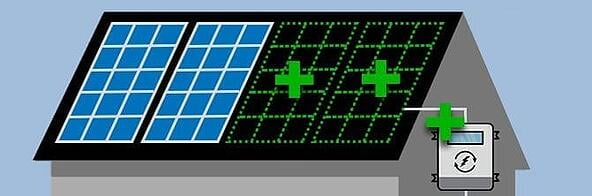 expand solar system with new inverter
