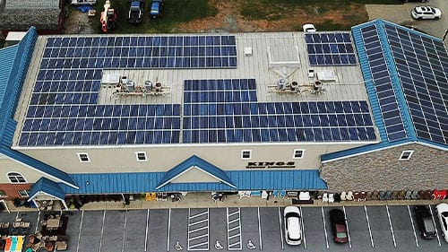 solar panels roof ronks pa business