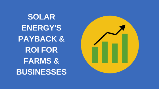 solar energy payback and roi