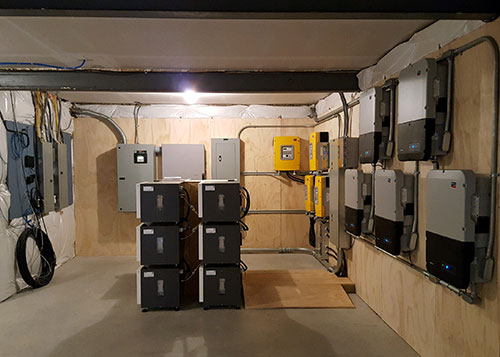 Inverters-&-Battery-Location