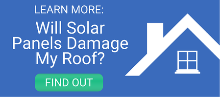 Will solar panels damage my roof