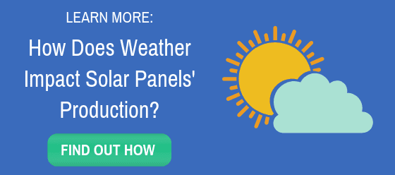 link to blog on weather's impact on solar panel production
