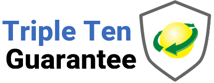 triple ten guarantee logo