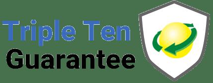 triple ten guarantee logo