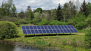 Solar energy ground mount system