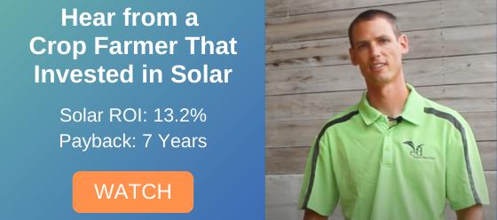 Rodman Lott Crop Farmer That Installed a Solar System