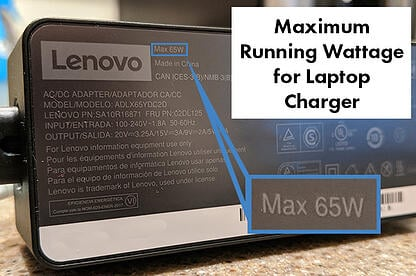 maximum-running-wattage-laptop-charger