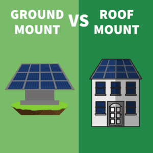 Ground Mount vs Roof Mount Solar Systems: A Comparison