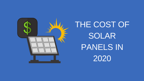 The cost of solar energy in 2020