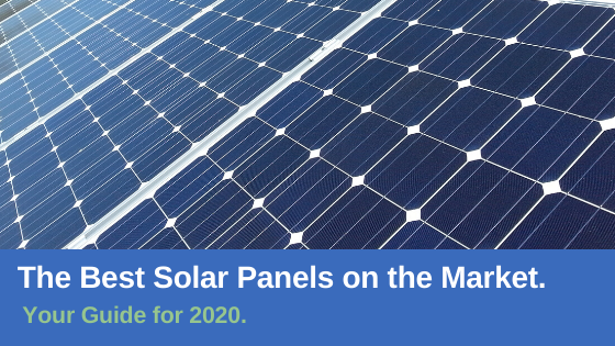 best solar panels on the market 2020
