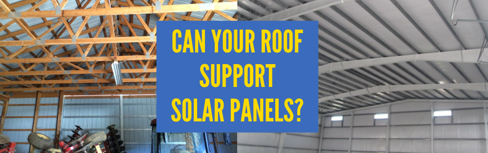 Can your roof support the added weight of solar panels?