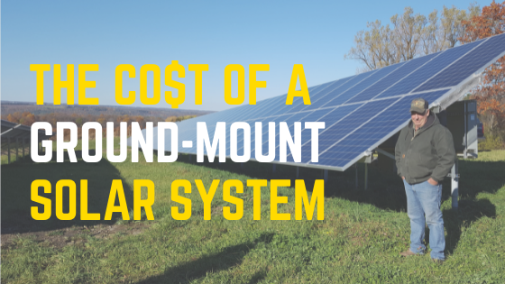 Cost of a ground mount solar system