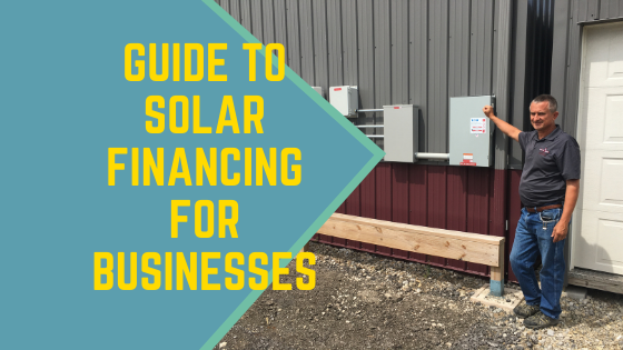 Guide to solar financing for businesses