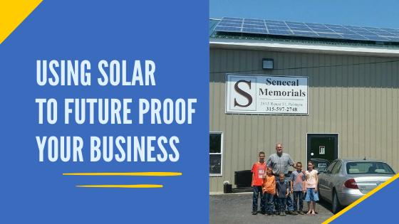 Using solar energy to future proof your business