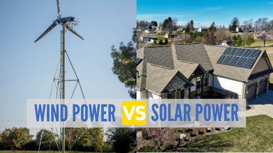 Here's how wind power compares to solar energy