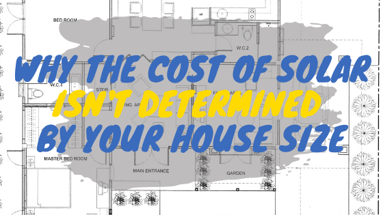 Cost of solar for a 1,000 sq ft home